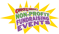 Non-profit fundraising events at Chuck E. Cheese's